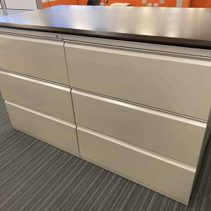 Used Herman Miller 3 Drawer File Cabinets for Sale