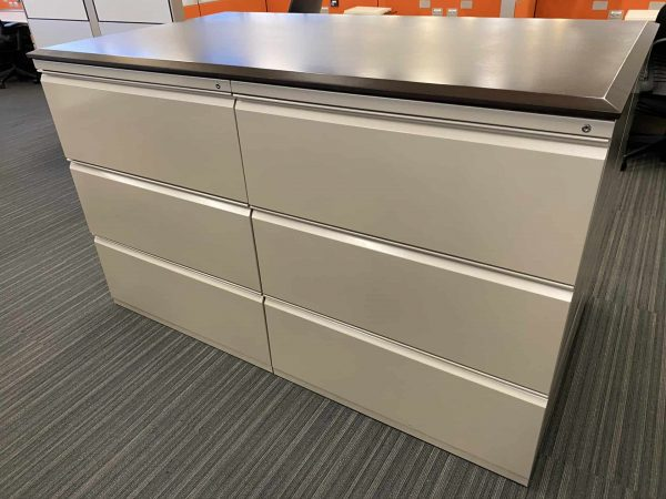 Herman Miller 3 Drawer File Cabinets for Sale