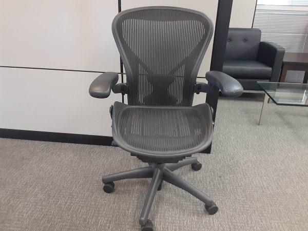 Used Herman Miller Aeron chairs