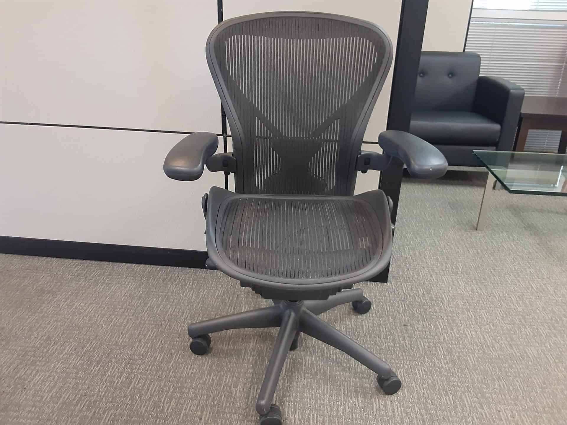 Used Herman Miller Aeron Chairs a