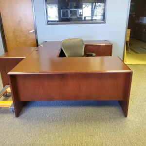 Used Kimball U Shaped Desks Office Desk