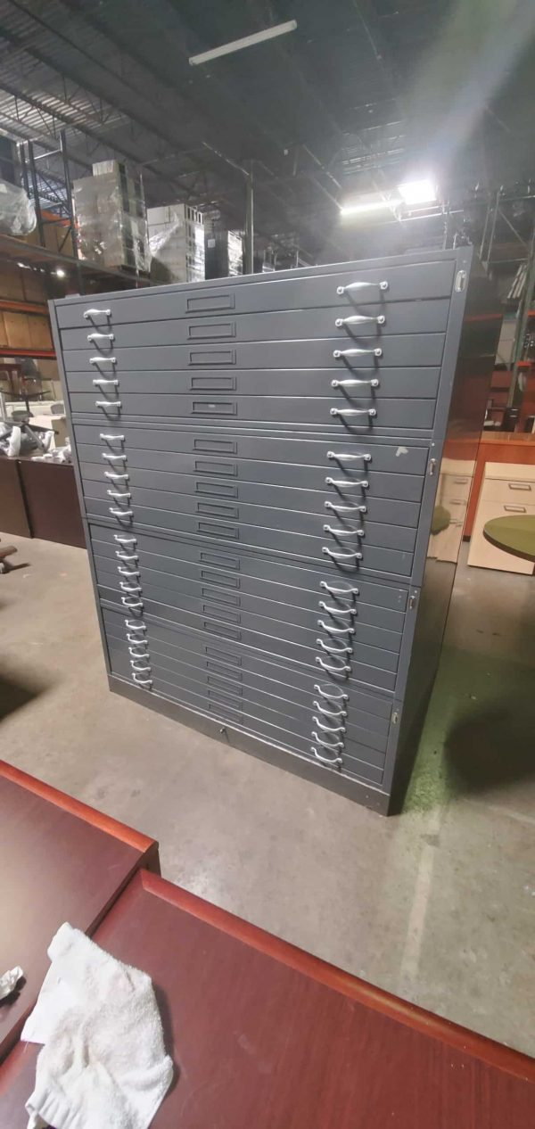 Used 5-Drawer Flat File Cabinet