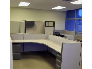 Used Herman Miller AO3 6x8 Cubicles