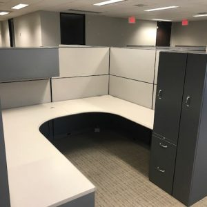 used Steelcase Montage Cubicles 8x8x67