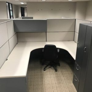 used Steelcase Montage Cubicles 8x8x67 For Sale
