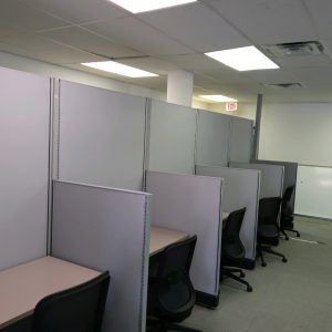 Secondhand 4x4 Herman Miller AO2 Call Center Cubicles
