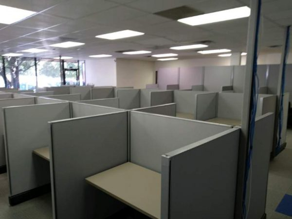 Preowned 4x4 Herman Miller AO2 Call Center Cubicles