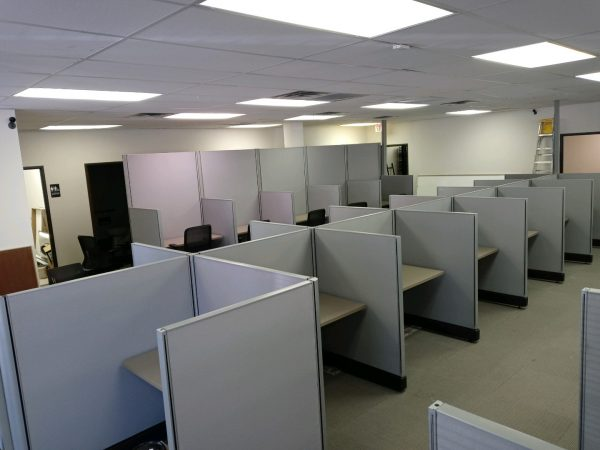Used 4x4 Herman Miller AO2 Call Center Cubicles