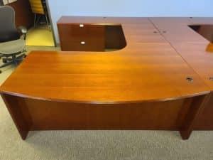 Used Cherryman Jade series desks