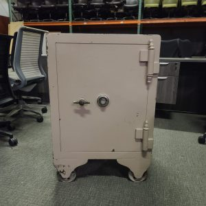 Used Safe with Wheels