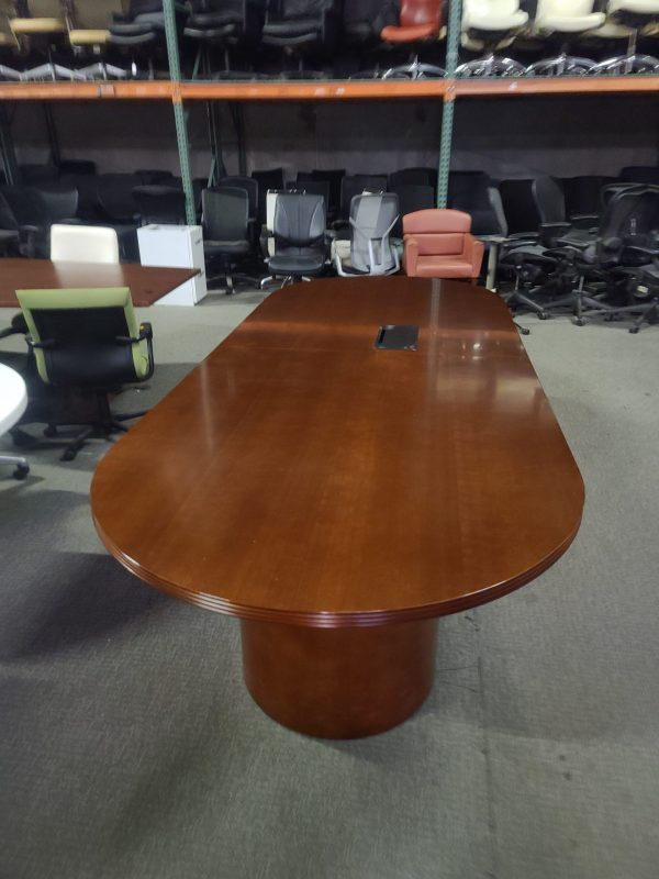 Used Cherryman 10ft Conference Room Table with Power