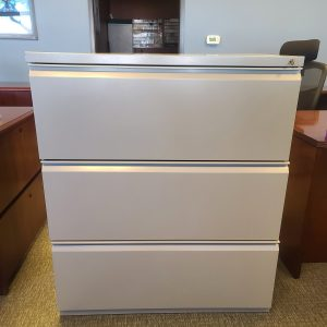 Used Herman Miller 3 Drawer 36in File Cabinet