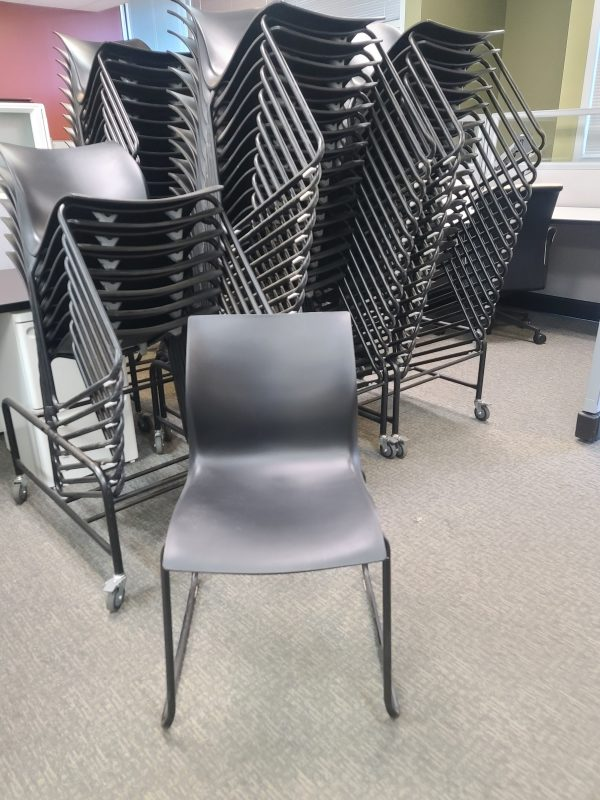 Used Nami Plastic Stacking Chairs