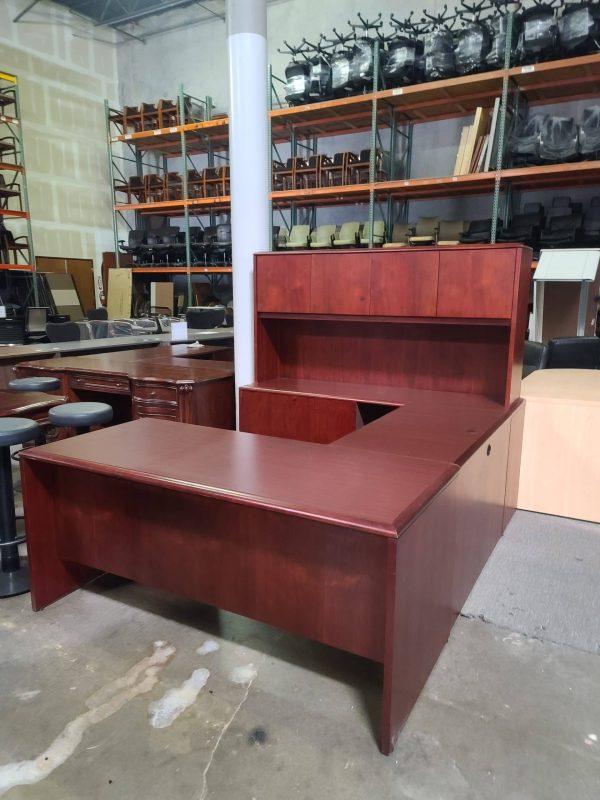 Secondhand U Shaped National Desk