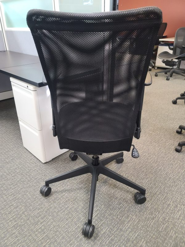 Back View Allseating Inertia Chairs