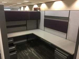 Used Herman Miller 6x8 8x8 Cubicles for sale