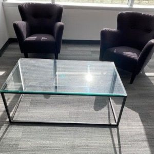 4x2 Glass Table