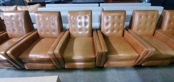 Cognac Leather Recliner Chairs