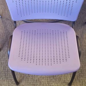 Used SitOnIt Stack Chairs Light Purple