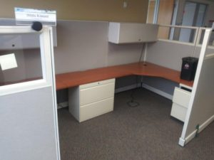 Herman Miller 6x6 6x8 67in tall cubicles