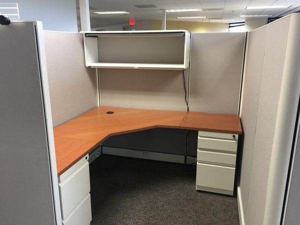 Herman Miller 6x6 6x8 67in tall cubicles for sale