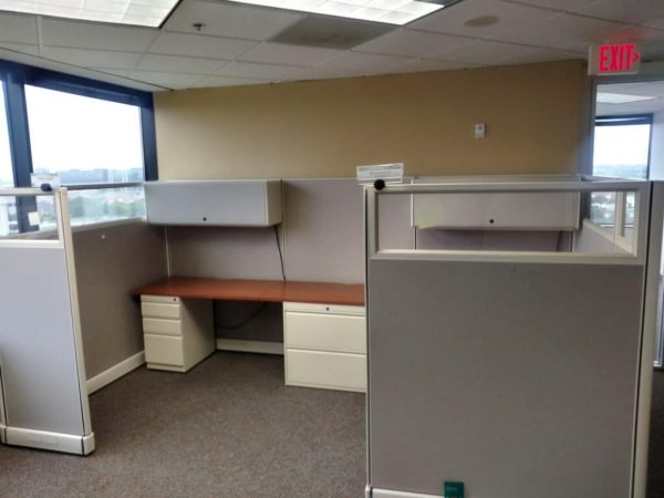 Herman Miller 6x6 6x8 67in tall cubicles used