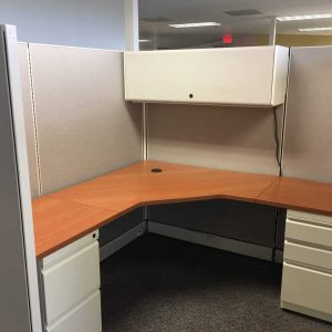 used Herman Miller 6x6 6x8 67in tall cubicles