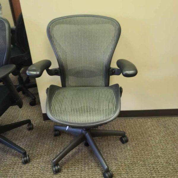 Herman Miller Aeron Size B Chairs